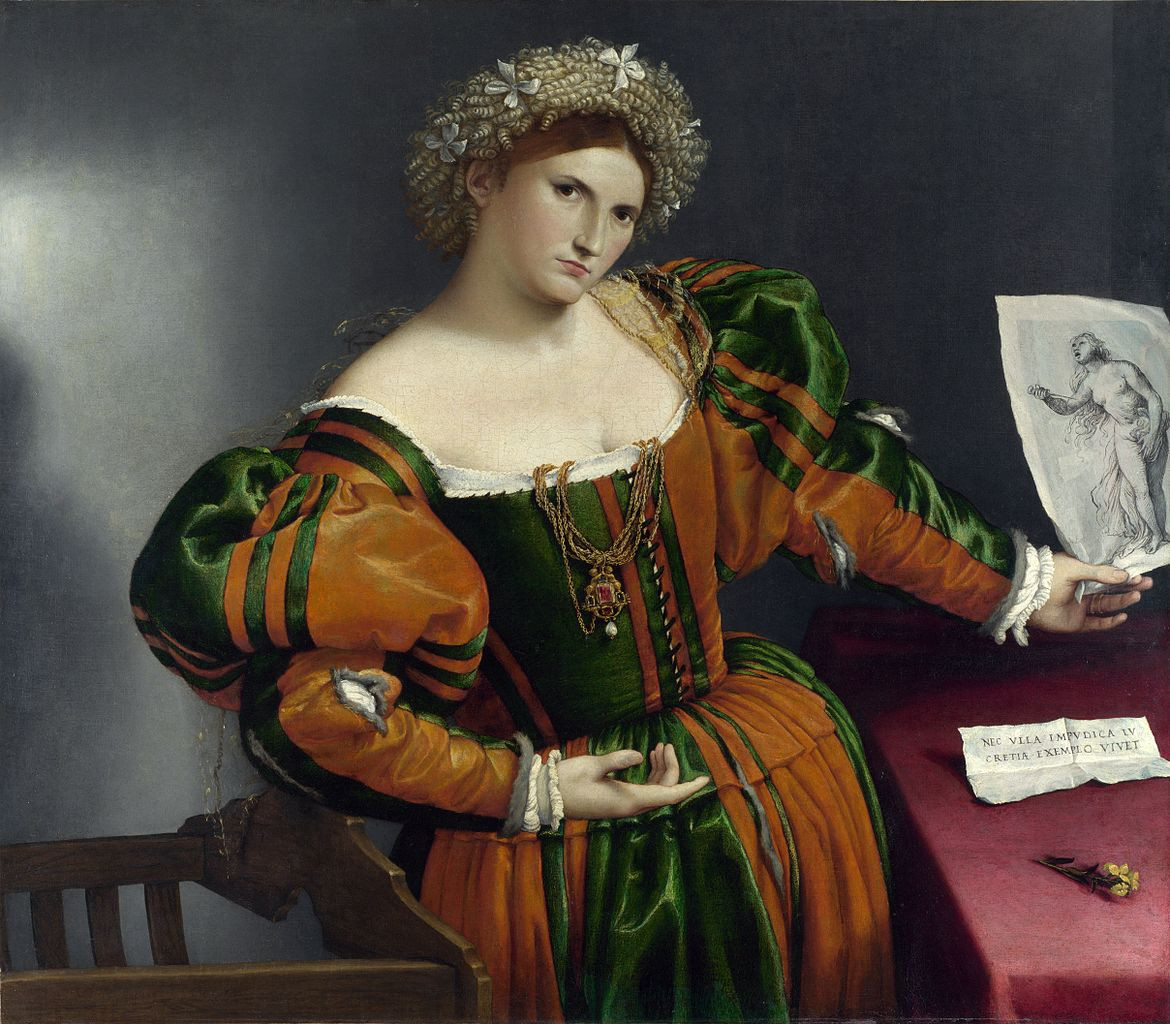 Venetian Woman in the Guise of Lucretia, 1533